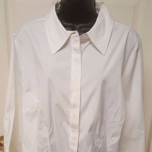 NWT Architect White Button Down Shirt